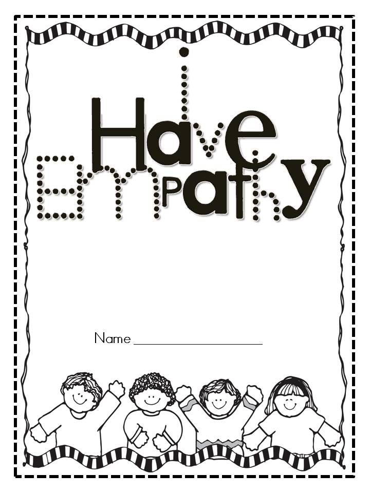 Kinder Kapers I Have Empathy booklet