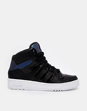Adidas Attitude Black High Top Trainers