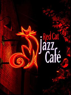 The Red Cat Jazz Cafe, Houston, Tx. Jazz  with a breakfast brunch buffet!