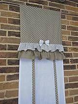 Úžitkový textil - Country záves na želanie - 5031166_