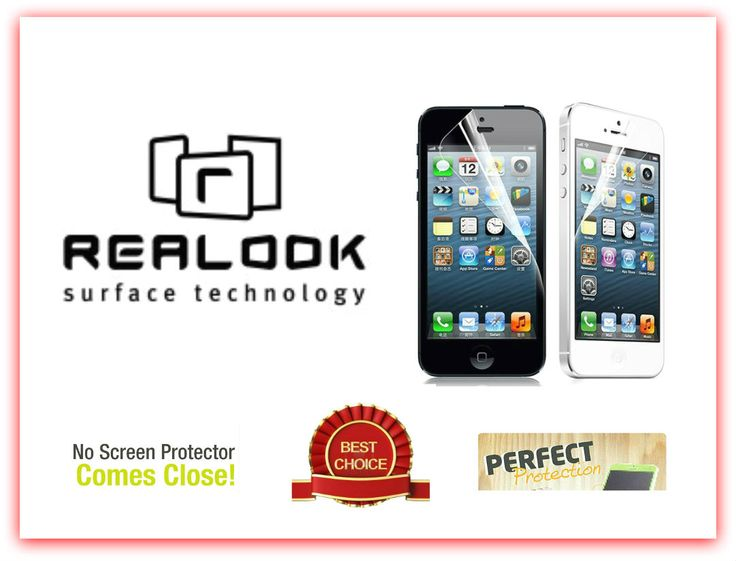 The Best Choice! REALOOK Screen Protectors and Tempered Glass  Perfect Fit! No Other Protector Comes Closed! The Best Choice!