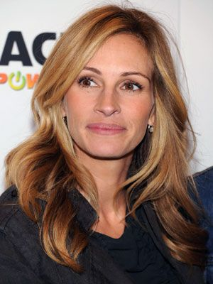 Julia Roberts Hairstyles - December 7, 2009 - DailyMakeover.com