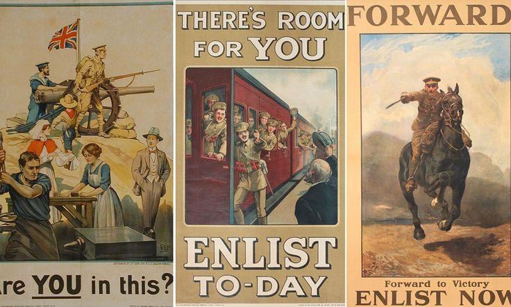 WW1 British Army recruitment posters found in hidden in attic