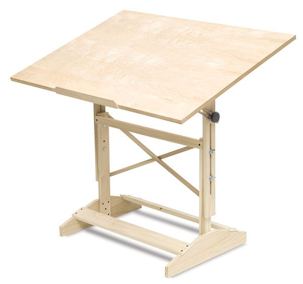 Lovely Wood Drafting Table Have One Almost Like It And Got It For 20 Dollars At  Yard