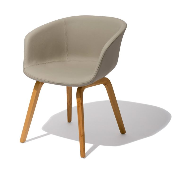 Oslo chair the oslo is perfect for fine dining or for Leather bucket dining chairs