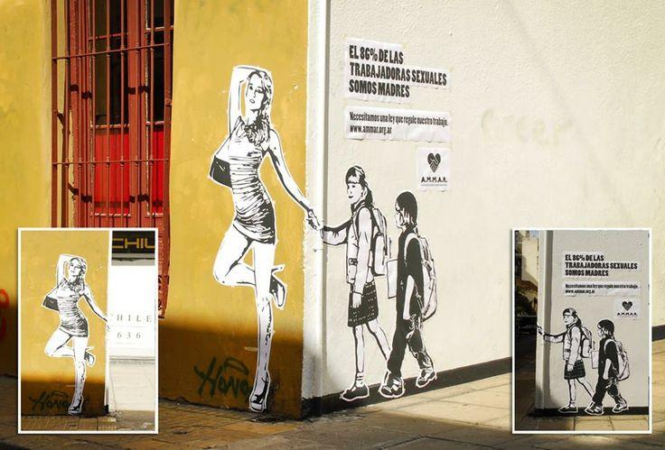 L'86% delle lavoratrici sessuali sono madri. Ecco una geniale campagna di Ogilvy & Mather (Argentina) per l'associazione Ammar (www.ammar.org.ar) a tutela dei loro diritti.