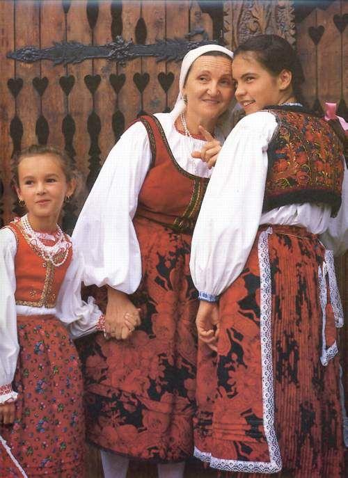 népviselet Székelyföldről Bukovinai székelyek Érden - Székelys from Bukovina at Érd