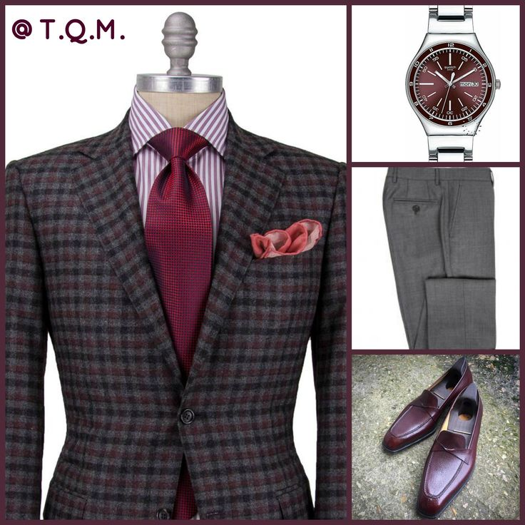 BUSINESS STYLE: Canali(Sport Coat)-Swatch(Watch)-Brunello Cucinelli(Slacks)-G&G(Shoes)