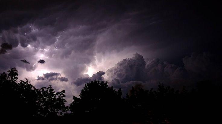 Viele Gewitter in der Nacht: Unwetter machen sich breit