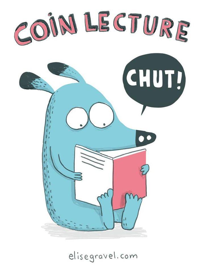 Chut! Illustration d'Élise Gravel