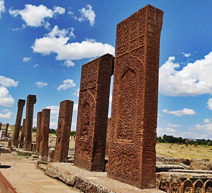 Seljuk cemetery by Erkam Uğur on 500px ..........Selcuk Cemetery at Ahlat in the district of #Bitlis. (UNESCO World Cultural Heritage List candidate)