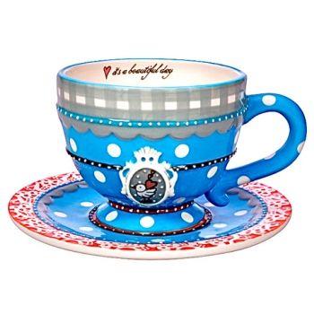 cup and saucer Studio Koekepeer - www.lotsofballoons.com