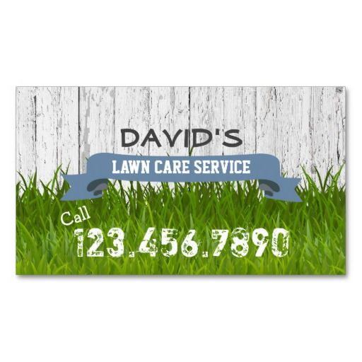 Lawn Service And Landscape: 15 Best Landscaping Business Cards Images On Pinterest