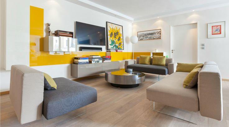 Gli Appartamenti sono luoghi abitati realmente, pensati per mostrare il carattere distintivo della proposta di design LAGO in modo completo.