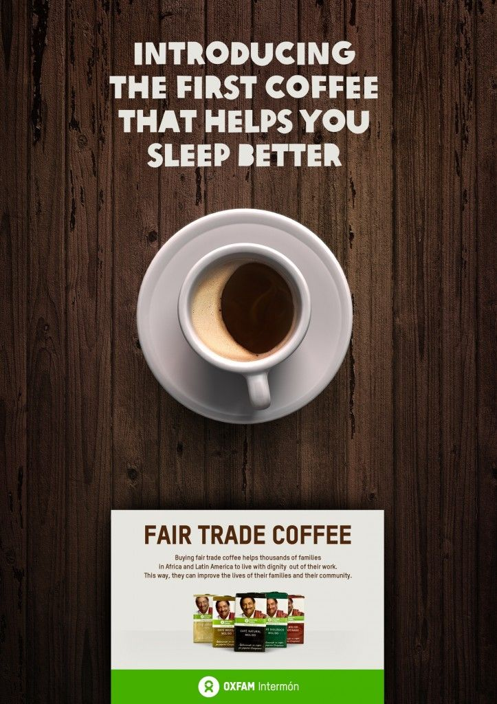 Oxfam Intermon Fair Trade #Coffee | http://www.gutewerbung.net/oxfam-intermon-fair-trade-coffee/ #Advertising