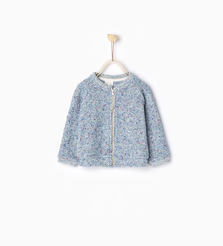 Zip sweatshirt-Collection-Baby girl | 3 months-4 years-COLLECTION SS16 | ZARA Hungary