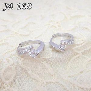 Anting Xuping Perhiasan Silver Permata JA 168 Fast Respon Pin BB : DB26F989 No Hp : 081223398889
