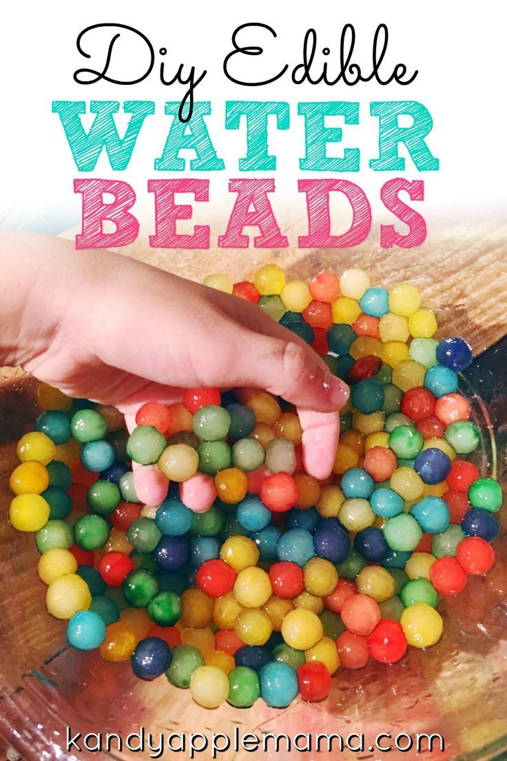 Micro beads for crafting - Crafting With The Kids Diy Edible Water Beads