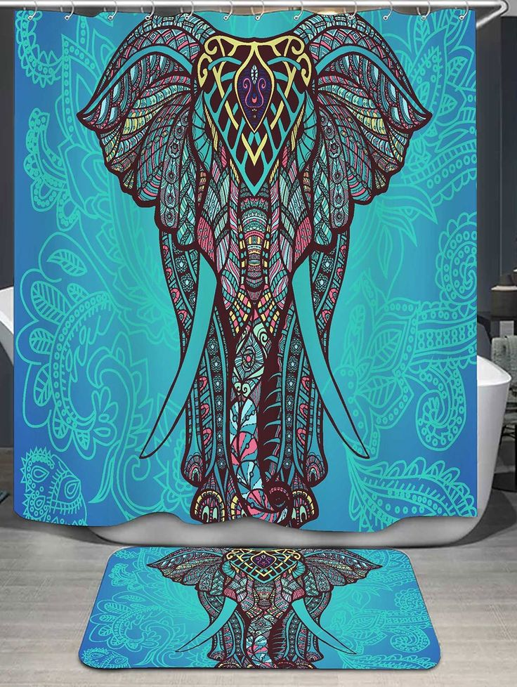 Best 25 Elephant shower curtains ideas on Pinterest  Brown baby curtains Funny shower