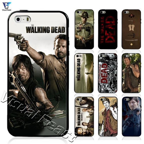 Hybrid TPU+PC Cover The Walking Dead Rick Daryl Zombie For Iphone 4 4s/ 5 5s/5c/ iphone 6 Samsung galaxy S3 S4 S5 With Free Screen Protector.Find the best deals on the market from #MAXPRO http://www.kctech-maxpro.com/#!iphone-6-case/cirv