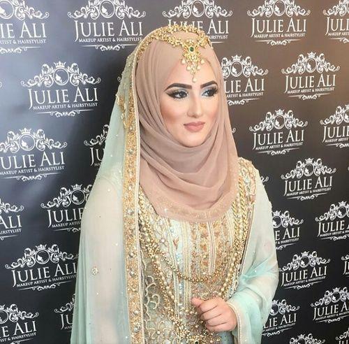India Hijab Style