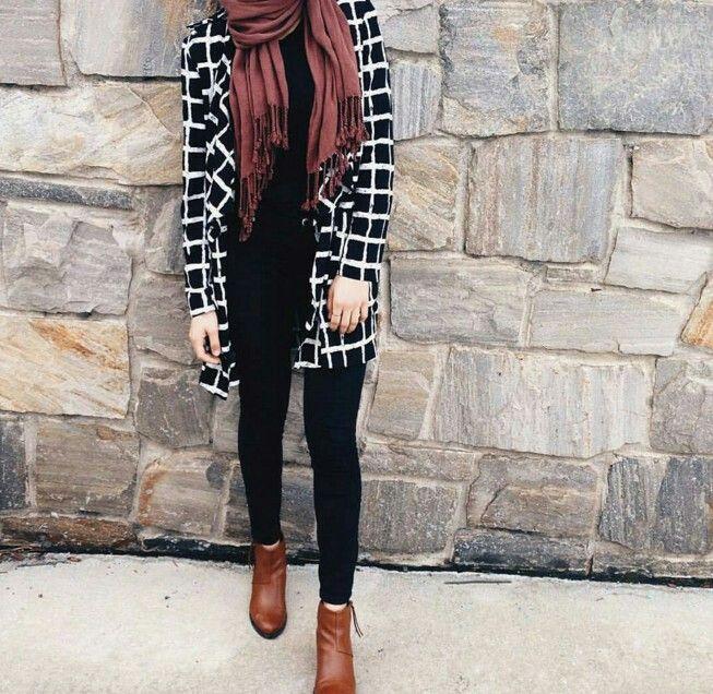 Fall ootd // hijabi outfits