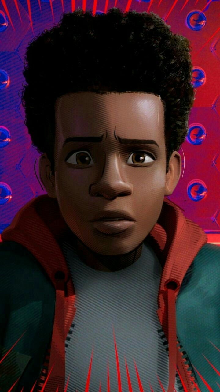 How To Draw Miles Morales Face : miles, morales, MILES, MORALES, Spiderman, Face,, Miles, Morales, Spiderman,