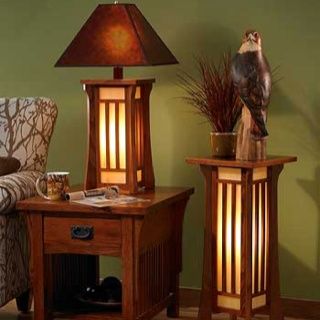 Craftsman Lamps. I Love The Floor One