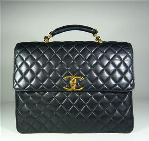 Chanel Paris, large leather bag / office bag