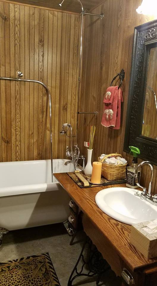 Randolph Morris 54 Inch Cast Iron Clawfoot Tub and Shower Package ...