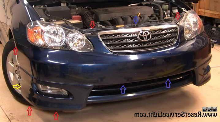 2006 Toyota Corolla S Headlight Embly