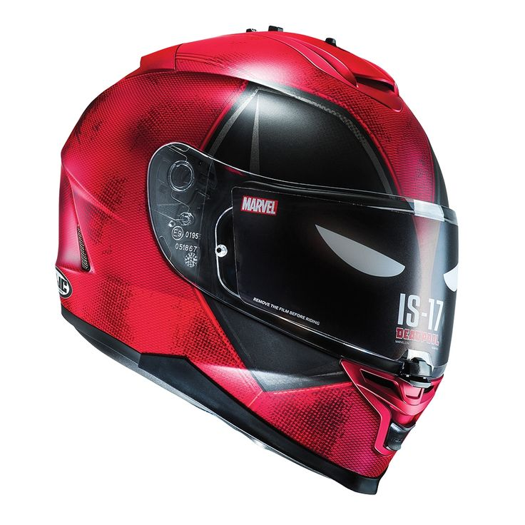 Marvel Deadpool HJC motorcycle helmet