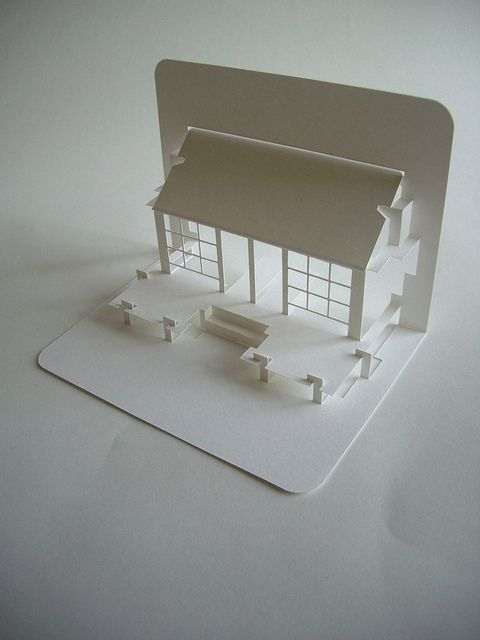 Pop Up buildings - Japanese site. No tutorials, but a great amount of different card options and more sophisticated paper cutting crafts.