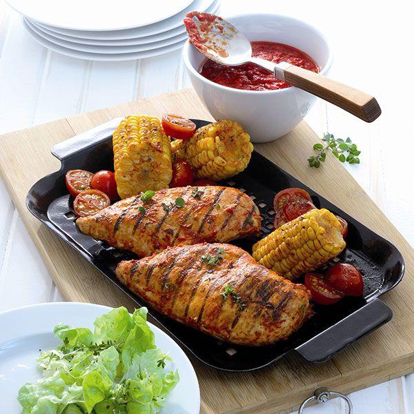 Barbecuekip. Dit gerecht is het begin van een heerlijke zomeravond. Zet de #BBQ maar alvast aan! #WeightWatchers #WWrecept