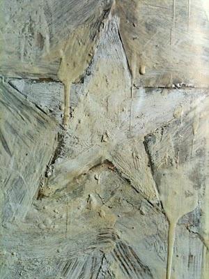 Detail from 'White Flag'- jasper johns