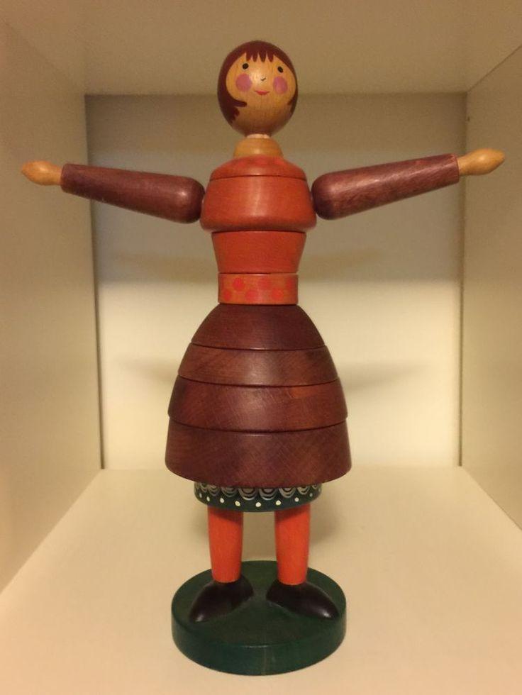 breitschwerdt wooden stacking toy