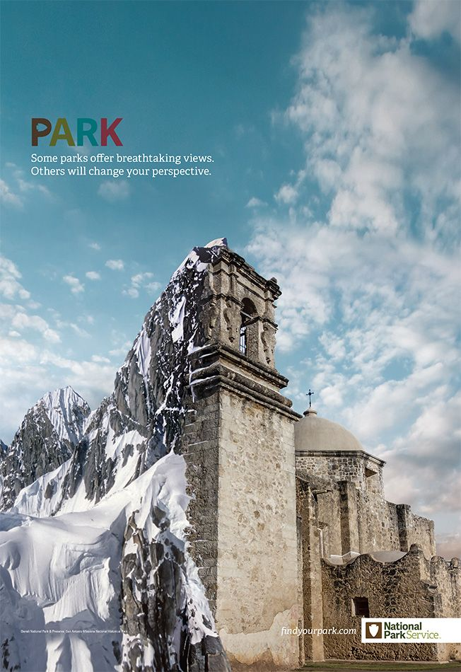 Check Out These Cool Nature-Monument Mashups in New Campaign for National Park…