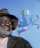 "Uncle Remus 'n Mr Bluebird--one of my favorite childhood memories is of going to the theater to see ""Song of the South"" with my Daddy. And also, riding in his truck with him, while he sang ""Zip-Ah-Dee-Doo-Dah."" <3"