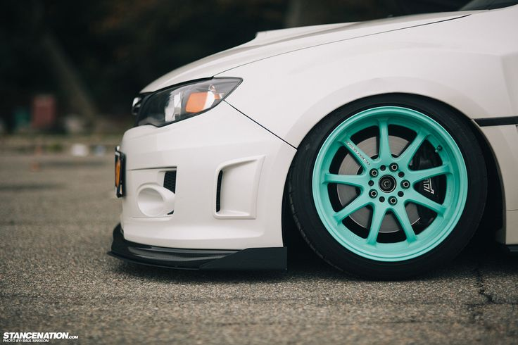 Breaking Necks On Tiffanys // Ians sexy Subaru STi. | StanceNation // Form Function www.wheelhero.com