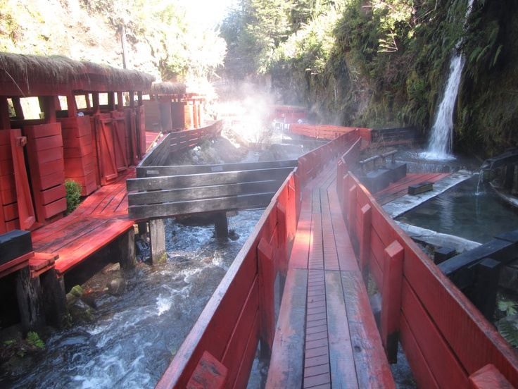 Termas Geométricas- Hot Springs, Chile