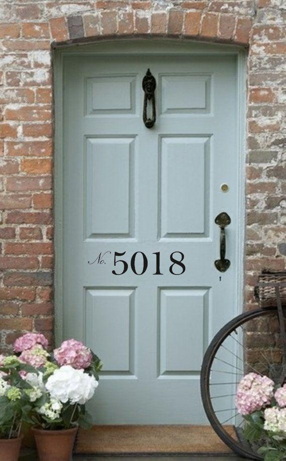Best 25+ Front door numbers ideas on Pinterest | House ...