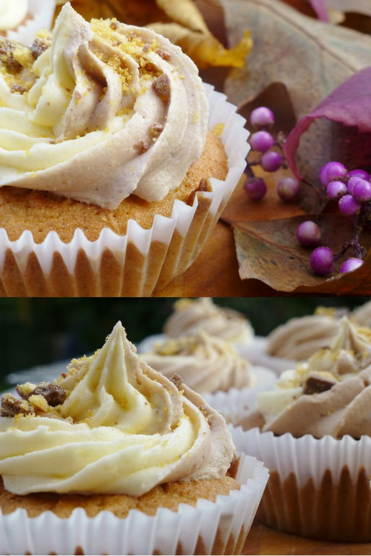 These cupcakes are perfect for November and so easy to make!