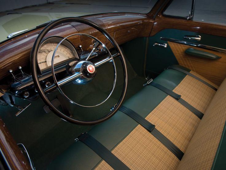 1952 Mercury Custom StationWagon retro interior