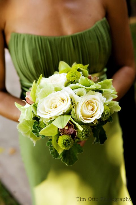 Multi-coloured Wedding #GREEN BRIDESMAIDS ... Wedding ideas for brides & bridesmaids, grooms & groomsmen, parents & planners ... https://itunes.apple.com/us/app/the-gold-wedding-planner/id498112599?ls=1=8 … plus how to organise an entire wedding, without overspending ♥ The Gold Wedding Planner iPhone App ♥