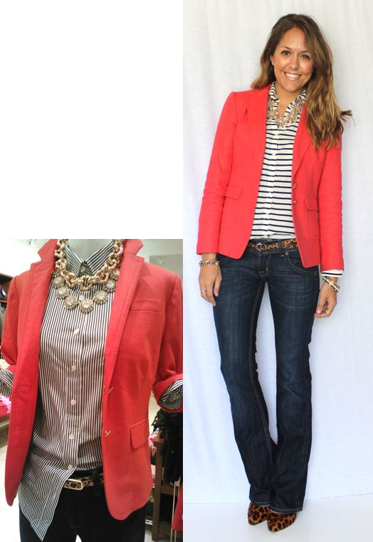 Ring In A Spicy Hot Palette Of Colors That Go With Orange: 1000+ Ideas About Orange Blazer On Pinterest