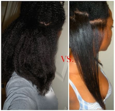 Flat Iron Hairstyles 2591 Best Straightened Natural Hair Images On Pinterest  Hair Dos