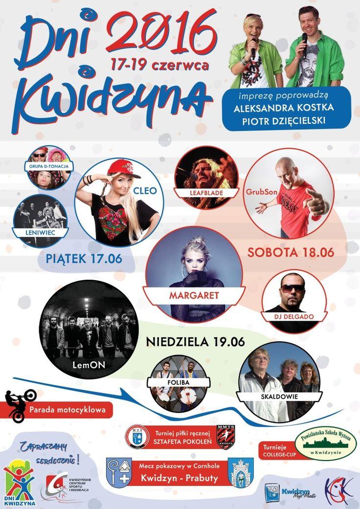 Dni Kwidzyna 2016, 17-19.06.2016 r.