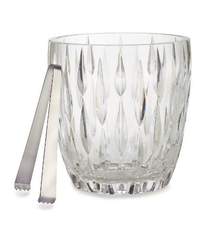 Marquis by Waterford Rainfall Ice Bucket by Marquis By Waterford. $99.00. Rainfall. Material: crystal. Fine crystal should be hand washed separately in warm soapy water rinsed thoroughly and dried with a lint free cloth; We do not recommend using a dishwasher to clean your crystal as it can dull and damage the surface. Do not turn upside down while drying or storing. Ice Bucket. Transitional design with heavy vertical cuts, the Rainfall Crystal Collection features c...