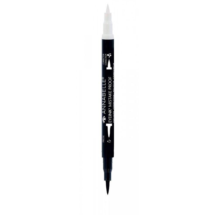 EyeInk2 Mistake Proof Eyeliner + Corrector - Black