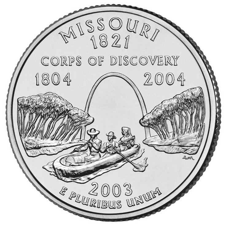 MissouriStlouis, St Louis, Quarter Collection, Missouri Quarter, Fifty States, Missouri States, States Quarter, States Coins, Usa